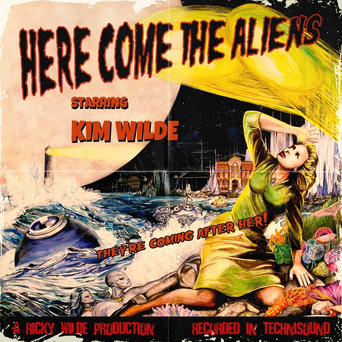 Kim Wilde - Here Come The Aliens [LP]