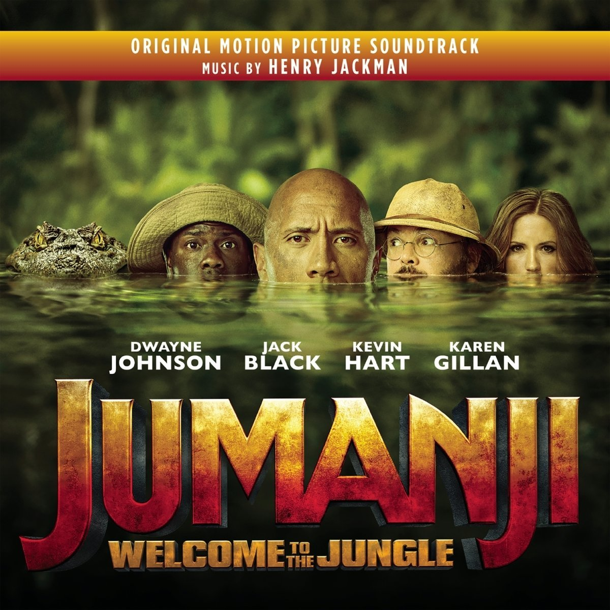 Henry Jackman - Jumanji: Welcome To The Jungle [Soundtrack]
