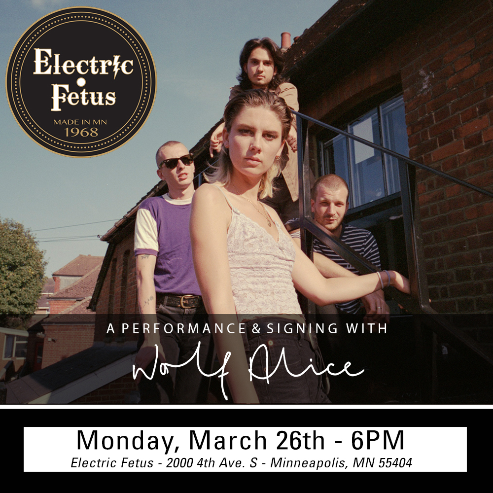 Wolf Alice In-store Performance and Signing