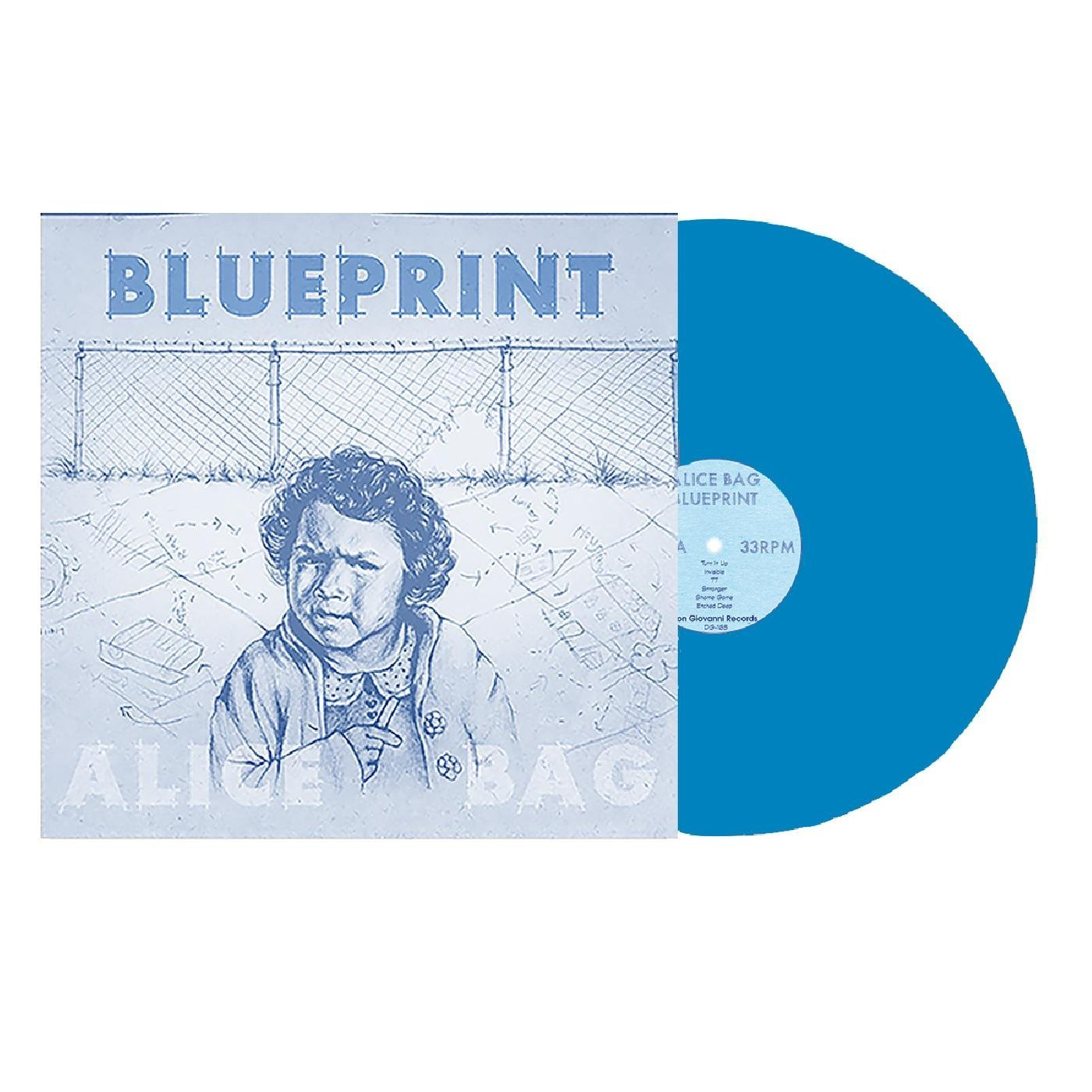 Alice Bag - Blueprint [Blue LP]