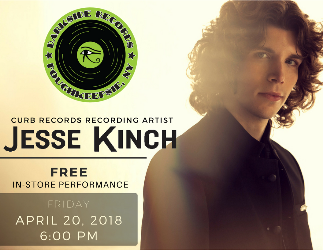 Jesse Kinch performing live in store April 20