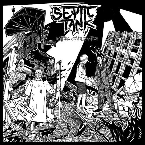 Septic Tank - Treasurers Of Disease - Single