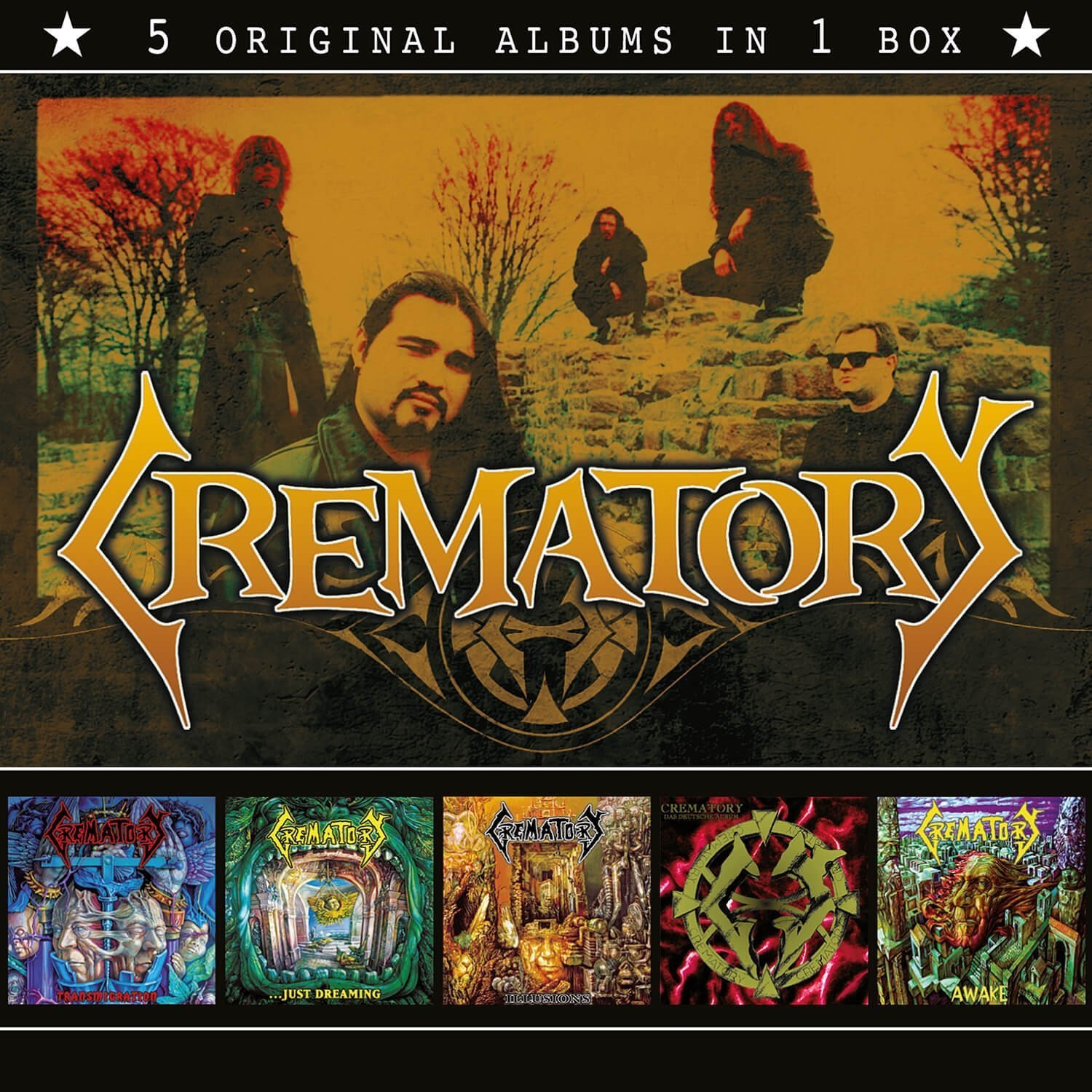 Crematory - 5 Original Albums In 1 [Box Set]