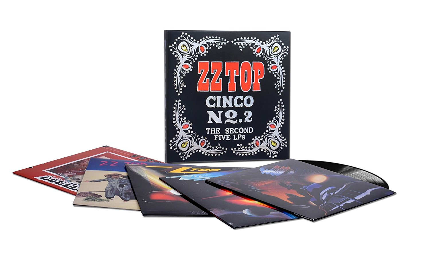ZZ Top - Cinco No. 2: The Second Five LPS [LP Box Set]