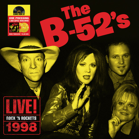 The B-52's - Rock N' Rockets, Live