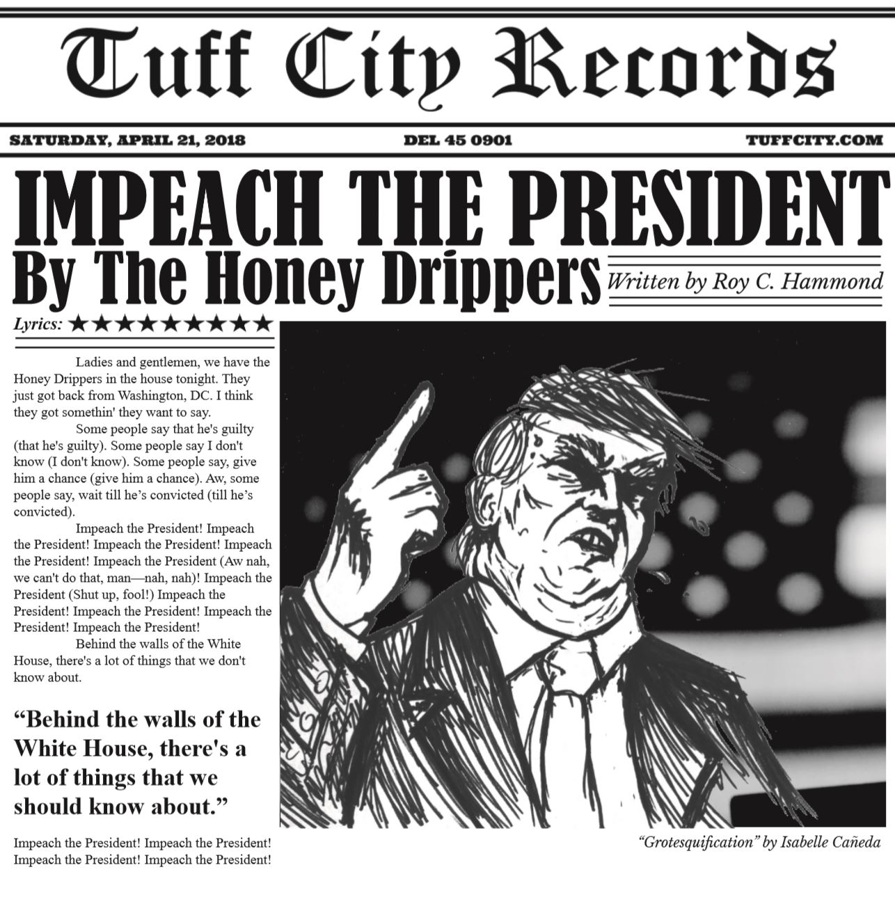 - Impeach The President/The Monkey That Became A President