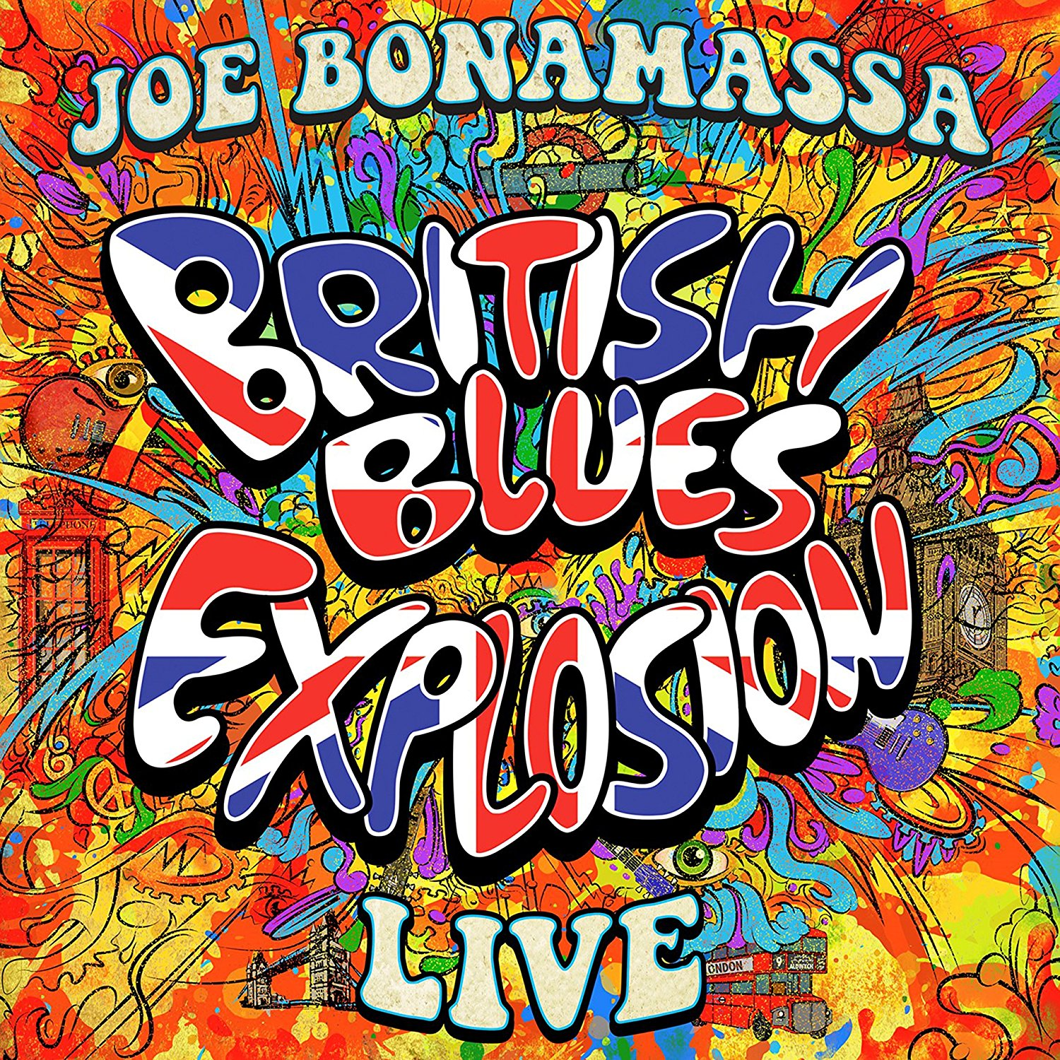 Joe Bonamassa - British Blues Explosion Live [3LP]