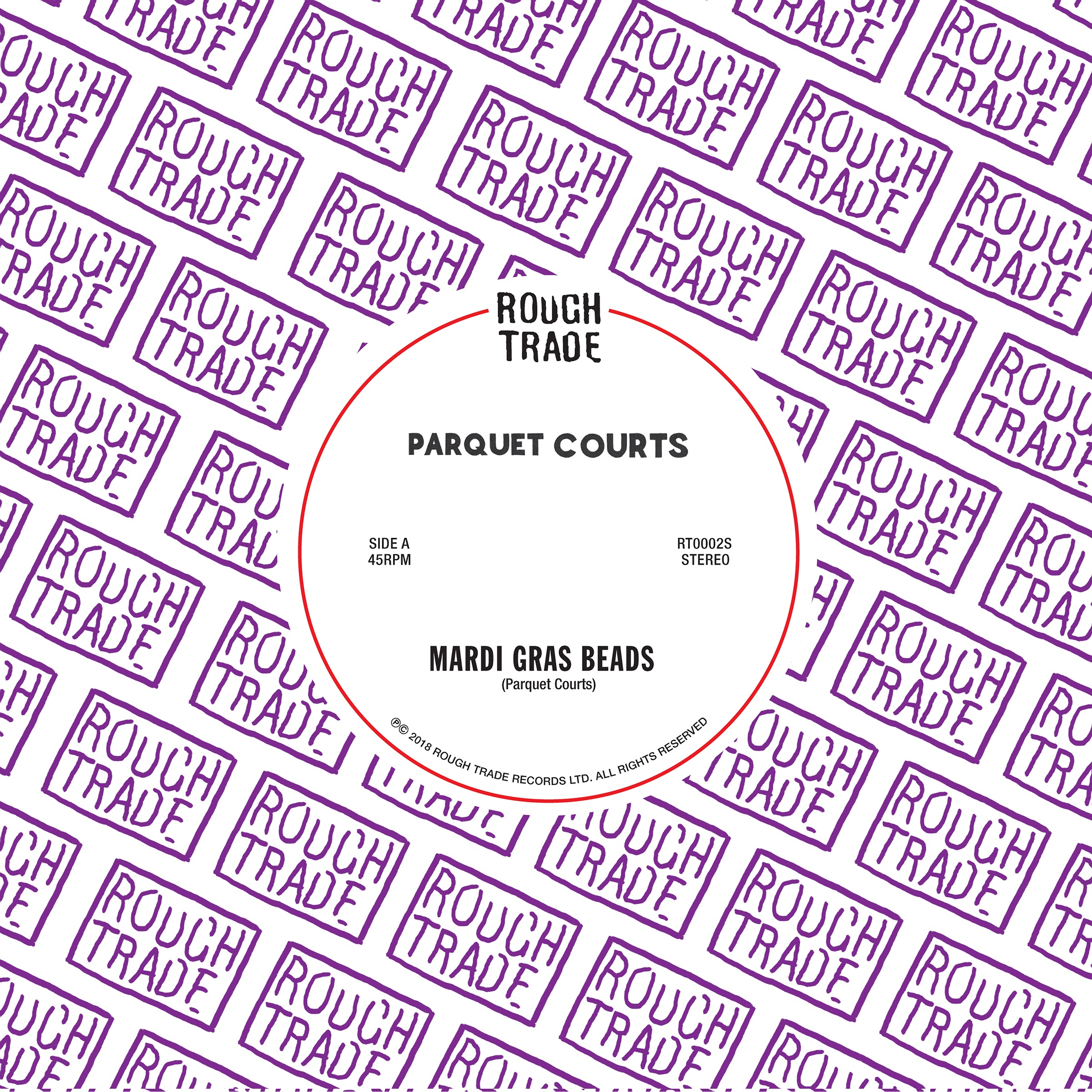 "Parquet Courts - ""Mardi Gras Beads""/""Seems Kind of Silly"""
