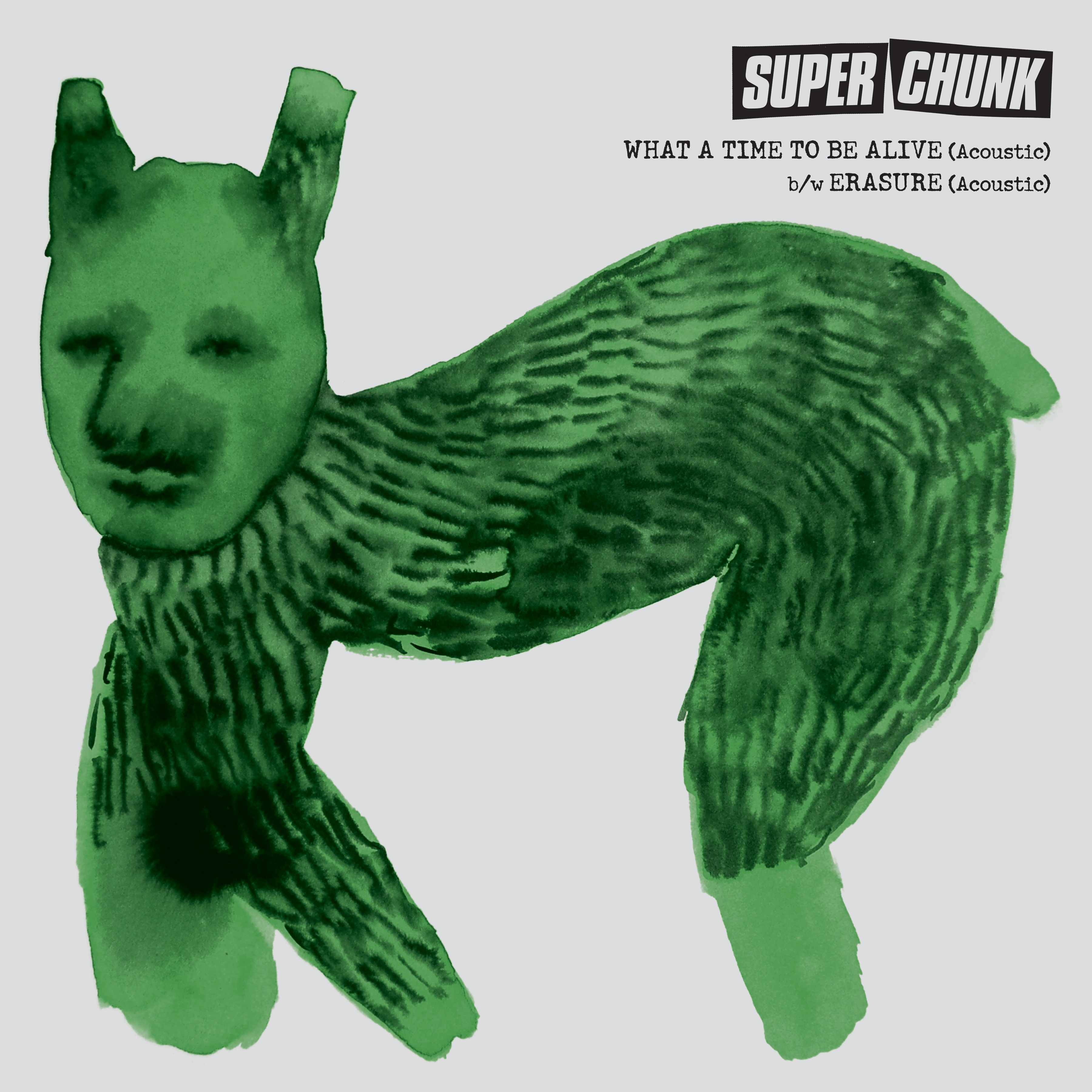 "Superchunk - ""What a Time to Be Alive (Acoustic)"" b/w ""Erasure (Acoustic)"""