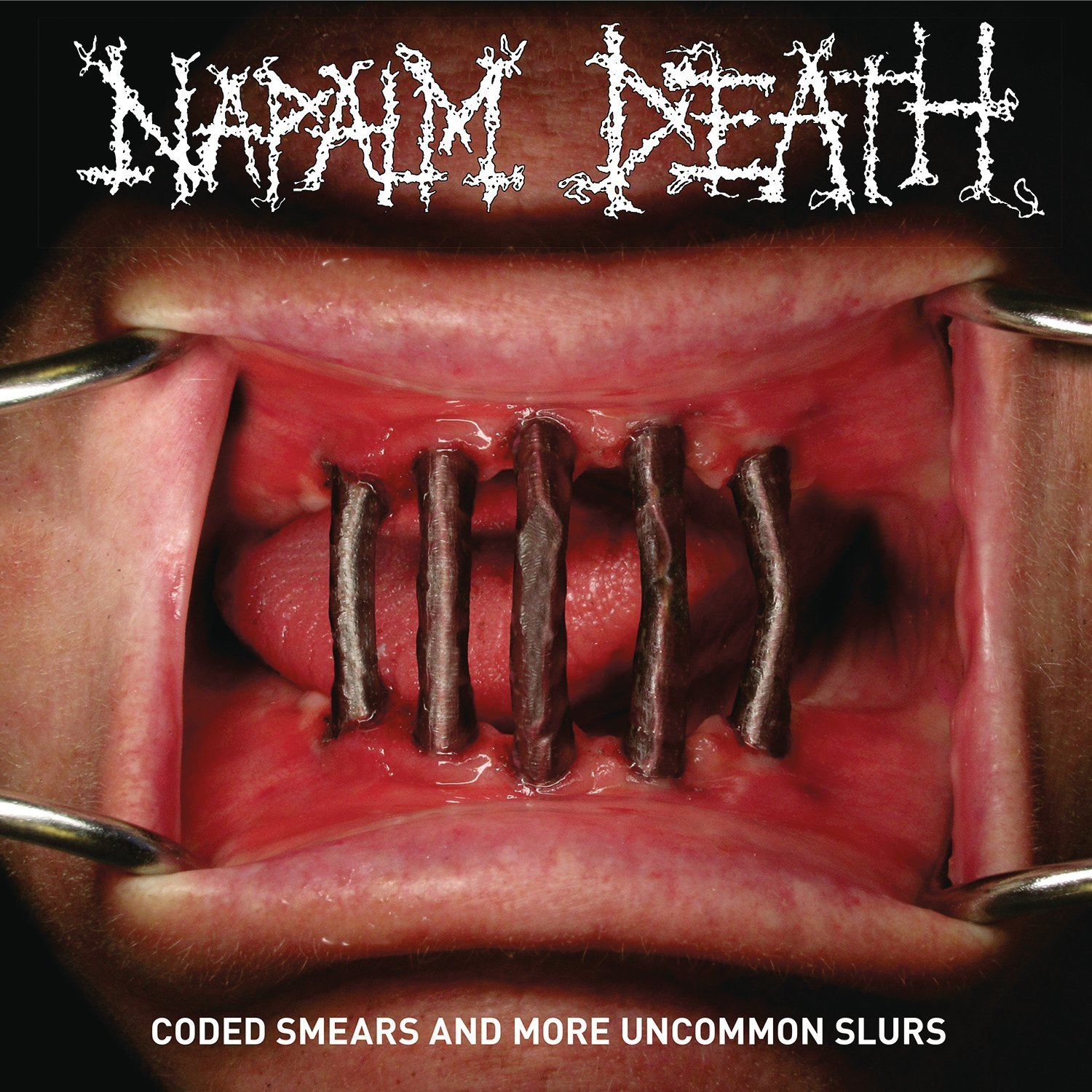 Napalm Death - Coded Smears And More Uncommon Slurs [Import Red LP]