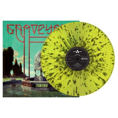 Graveyard - Peace [Indie Exclusive Limited Edition Yellow w/ Black Splatter LP]