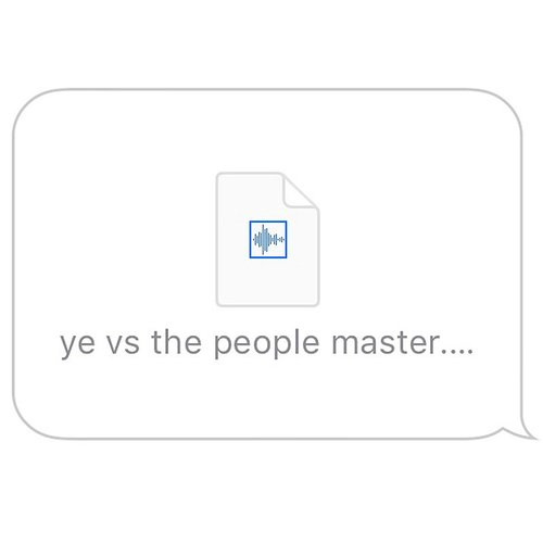 Kanye West - Ye Vs. The People (Starring Ti As The People) - Single