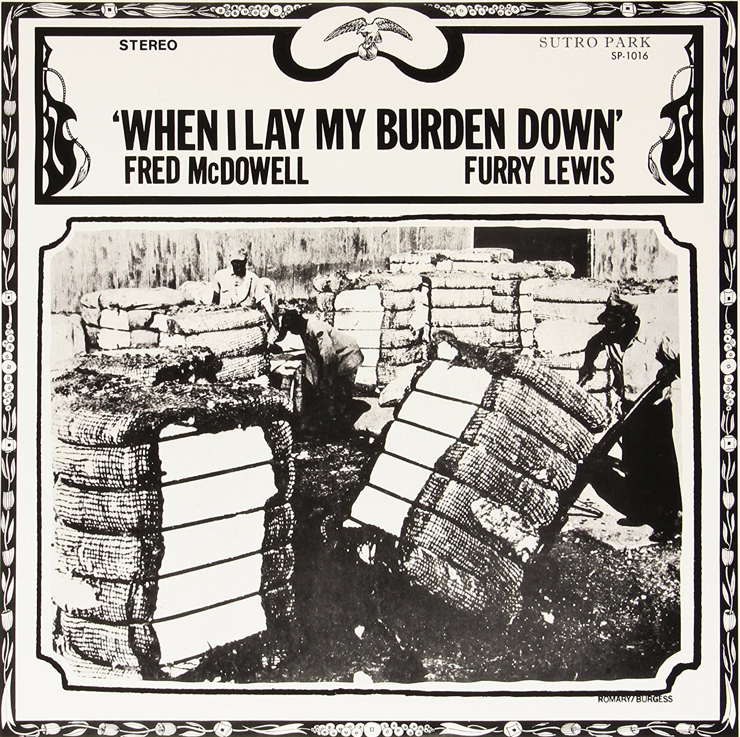 Fred Mcdowell - When I Lay My Burden Down [LP]