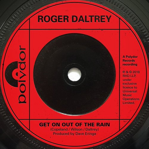 Roger Daltrey - Get On Out Of The Rain - Single