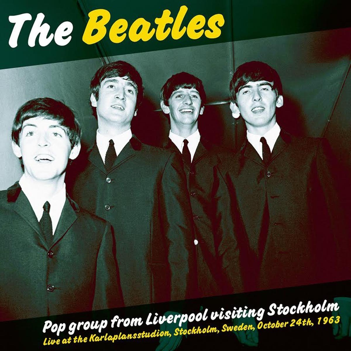 The Beatles - Pop Group From Liverpool Visiting Stockholm [LP]