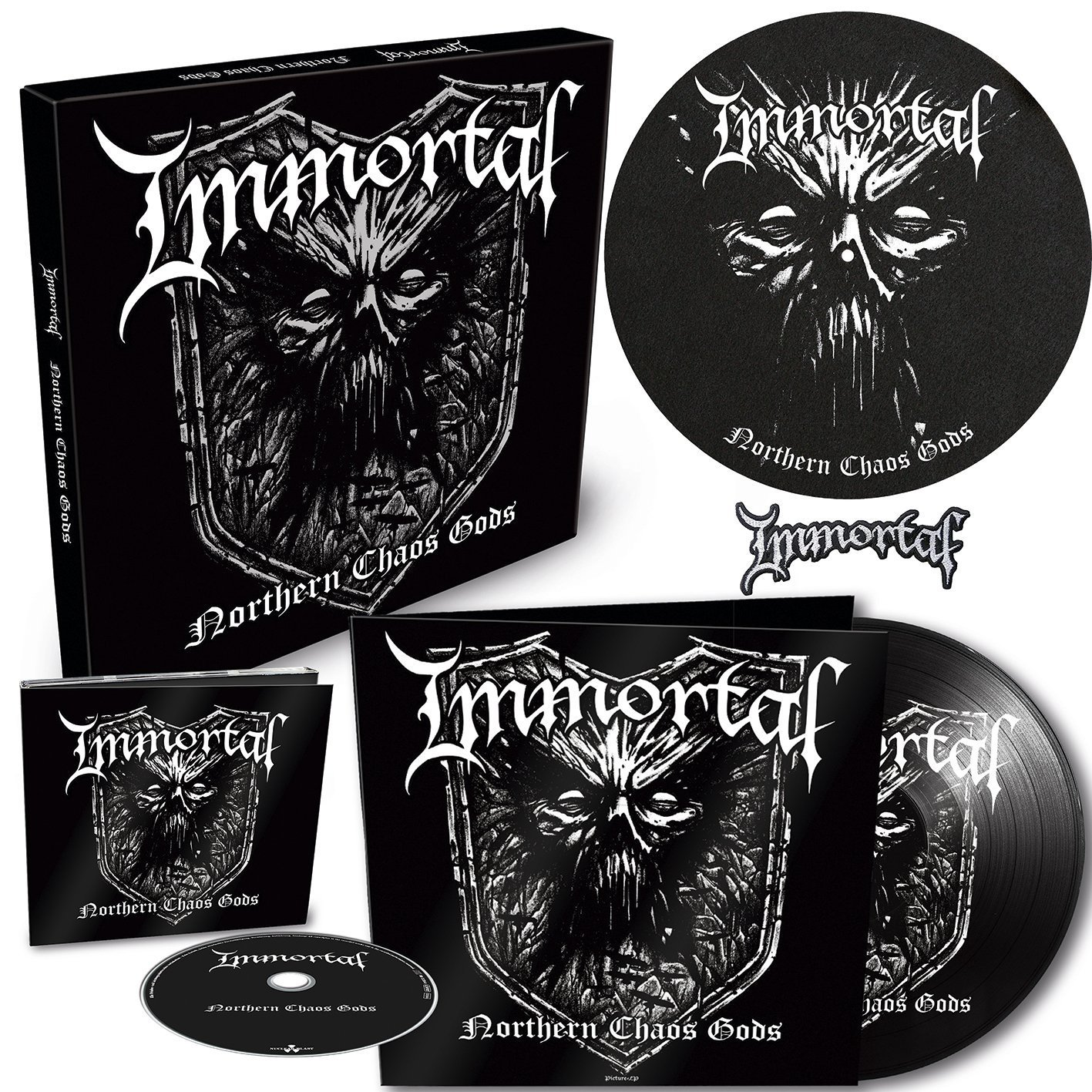 Immortal - Northern Chaos Gods [Import Deluxe LP]