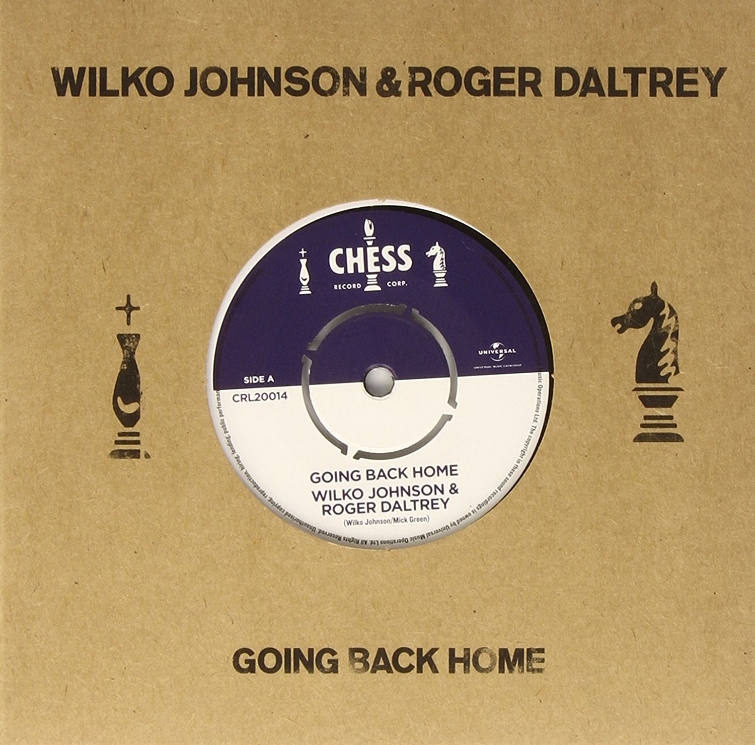 Wilko Johnson & Roger Daltrey - Going Back Home - Single [Vinyl]