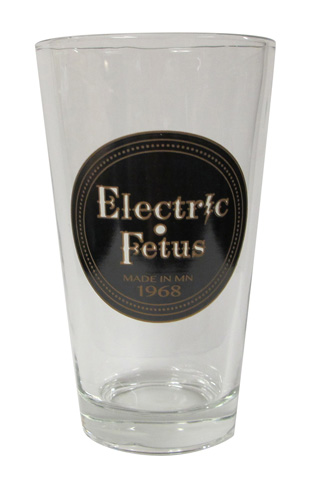 Record Label Pint Glass