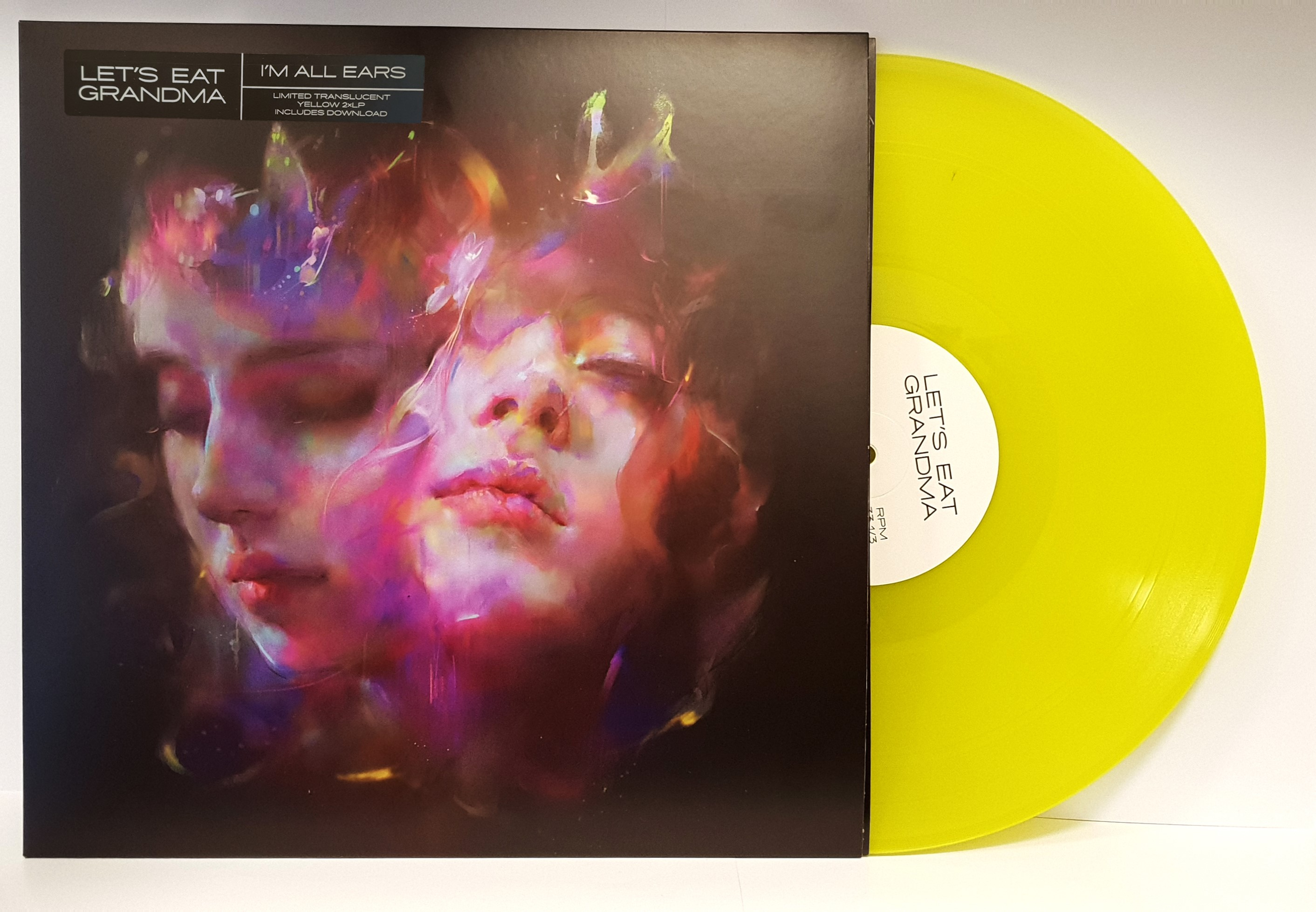 Let's Eat Grandma - I'm All Ears [Indie Exclusive Translucent Yellow]
