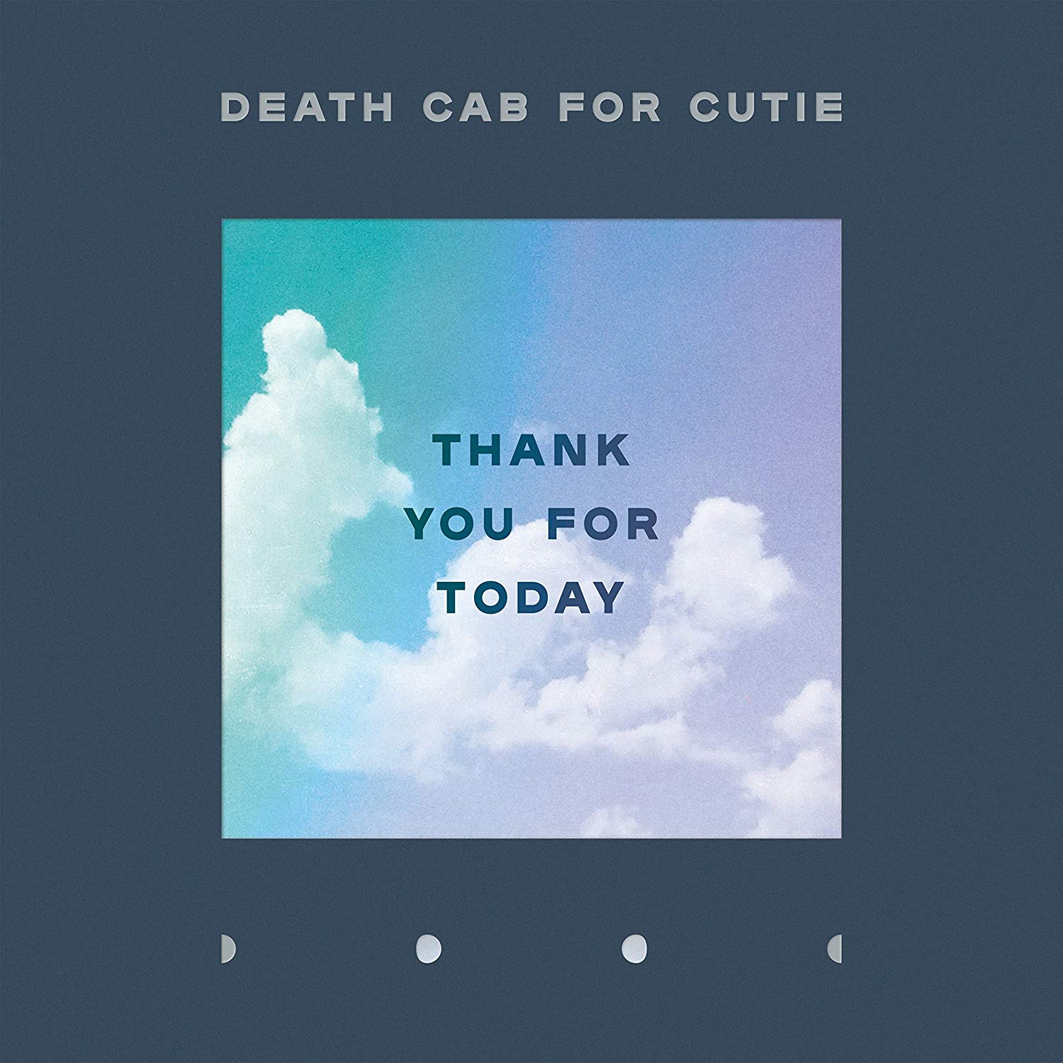 Death Cab for Cutie - Thank You For Today [Indie Exclusive Limited Edition Clear LP]