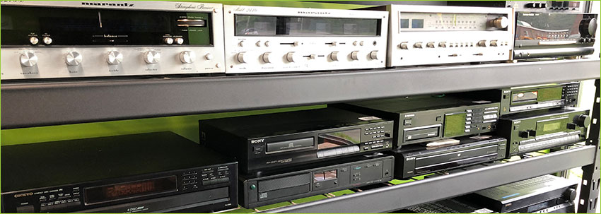 Used Hifi audio equipment at Darkside Records Poughkeepsie NY