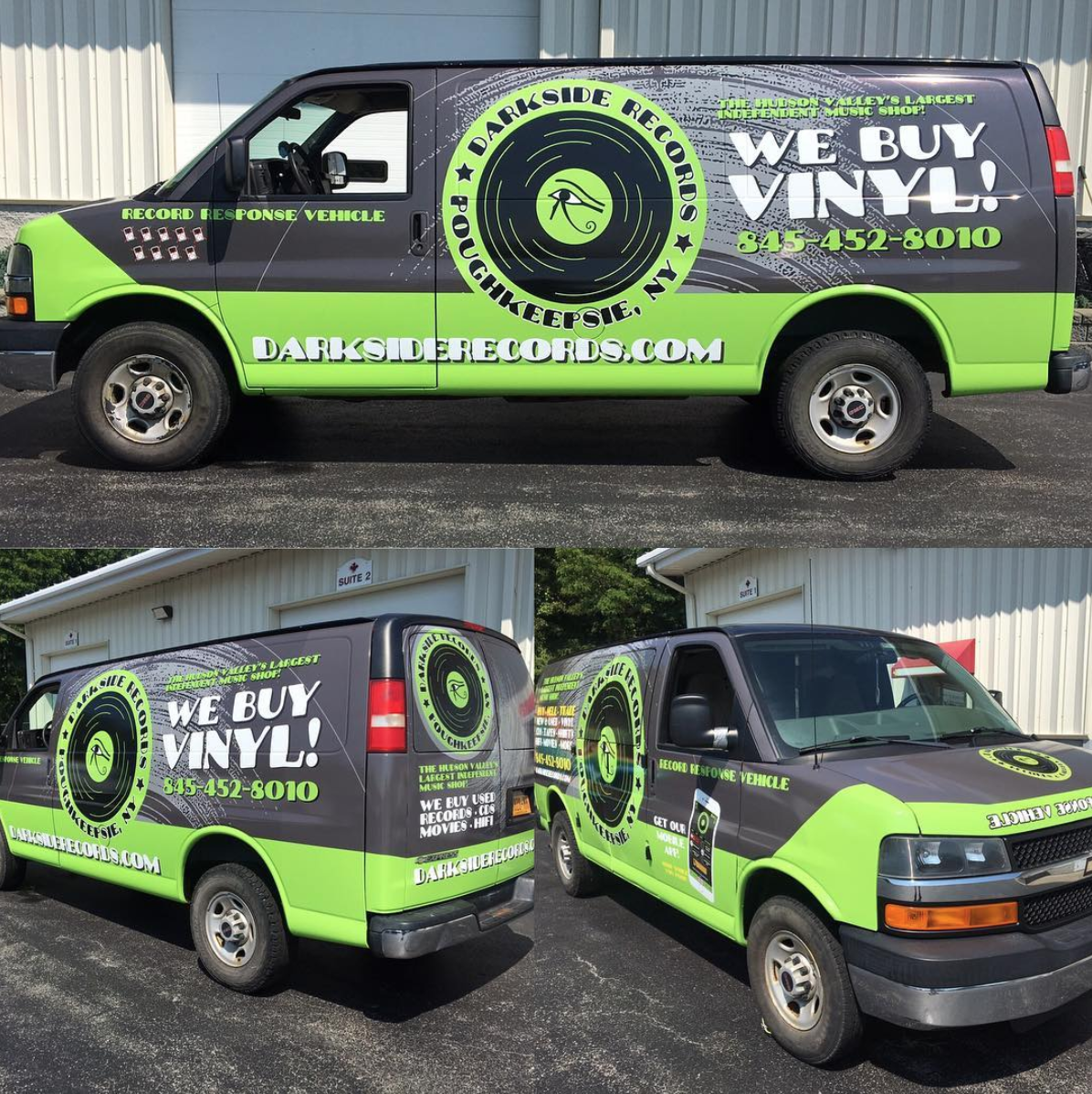 record response vehicle van we travel to purchase large collections