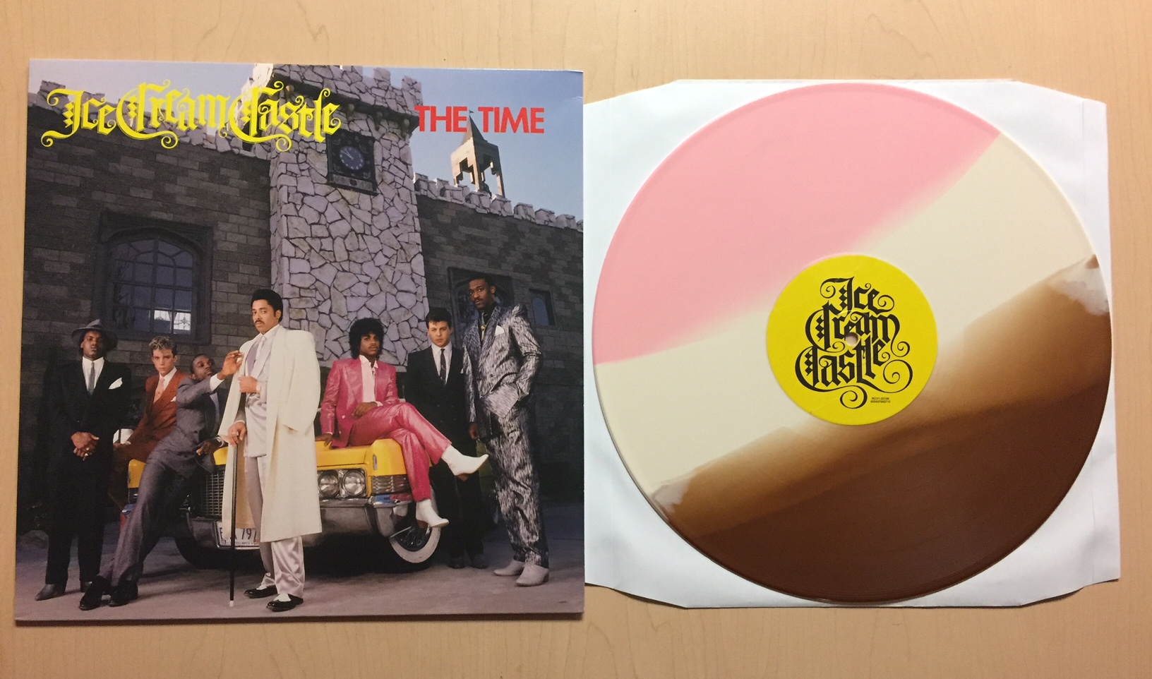 The Time - Ice Cream Castle vinyl reissue - Tues., July 24th