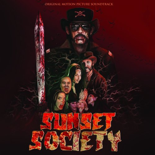 Various Artists - Sunset Society [Limited Edition Red LP Soundtrack]
