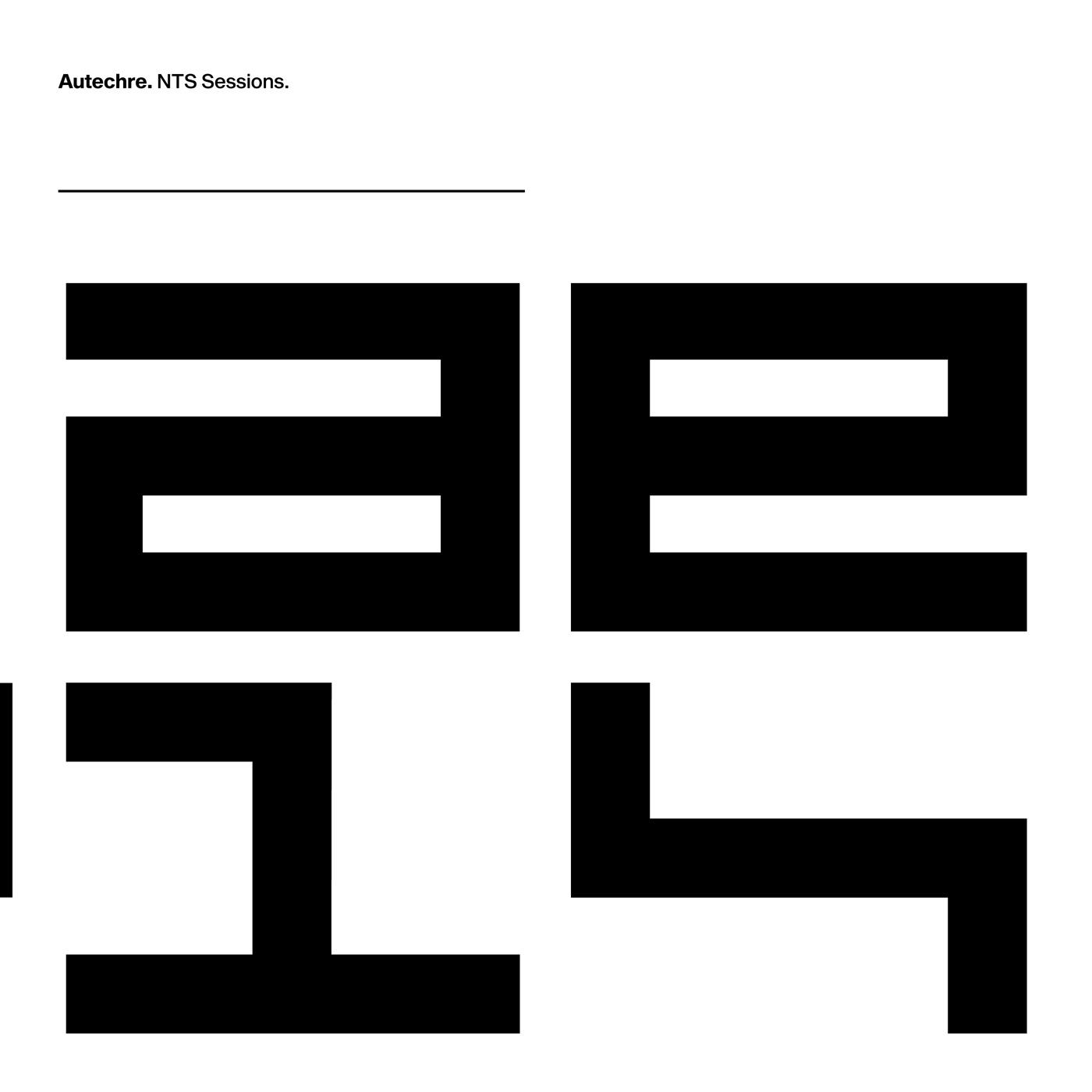 Autechre - NTS Sessions [Indie Exclusive Limited Edition 12LP]