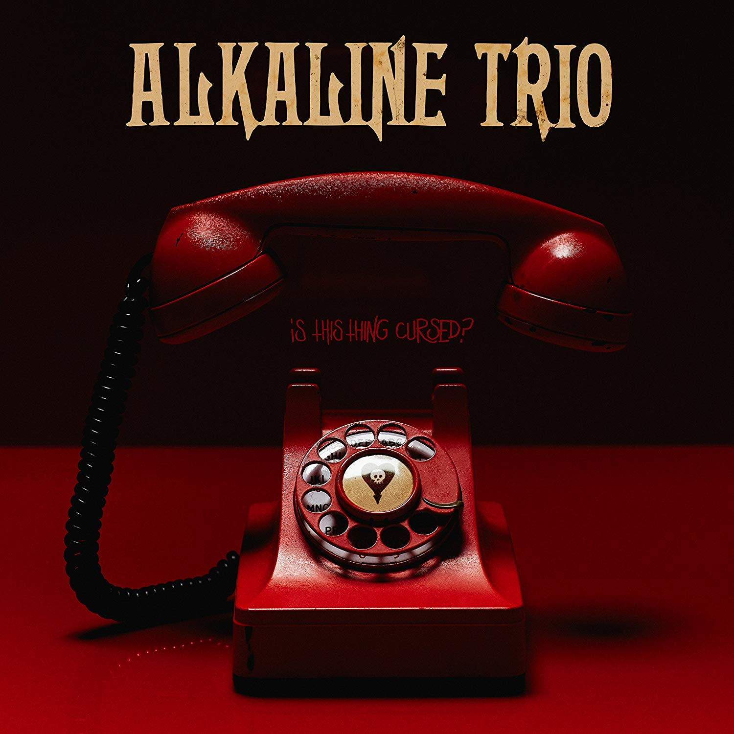 Alkaline Trio - Is This Thing Cursed? (Opaque Red) [Colored Vinyl] (Red)