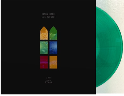 Jason Isbell - Live From The Ryman [Indie Exclusive Limited Edition Transparent Green LP]