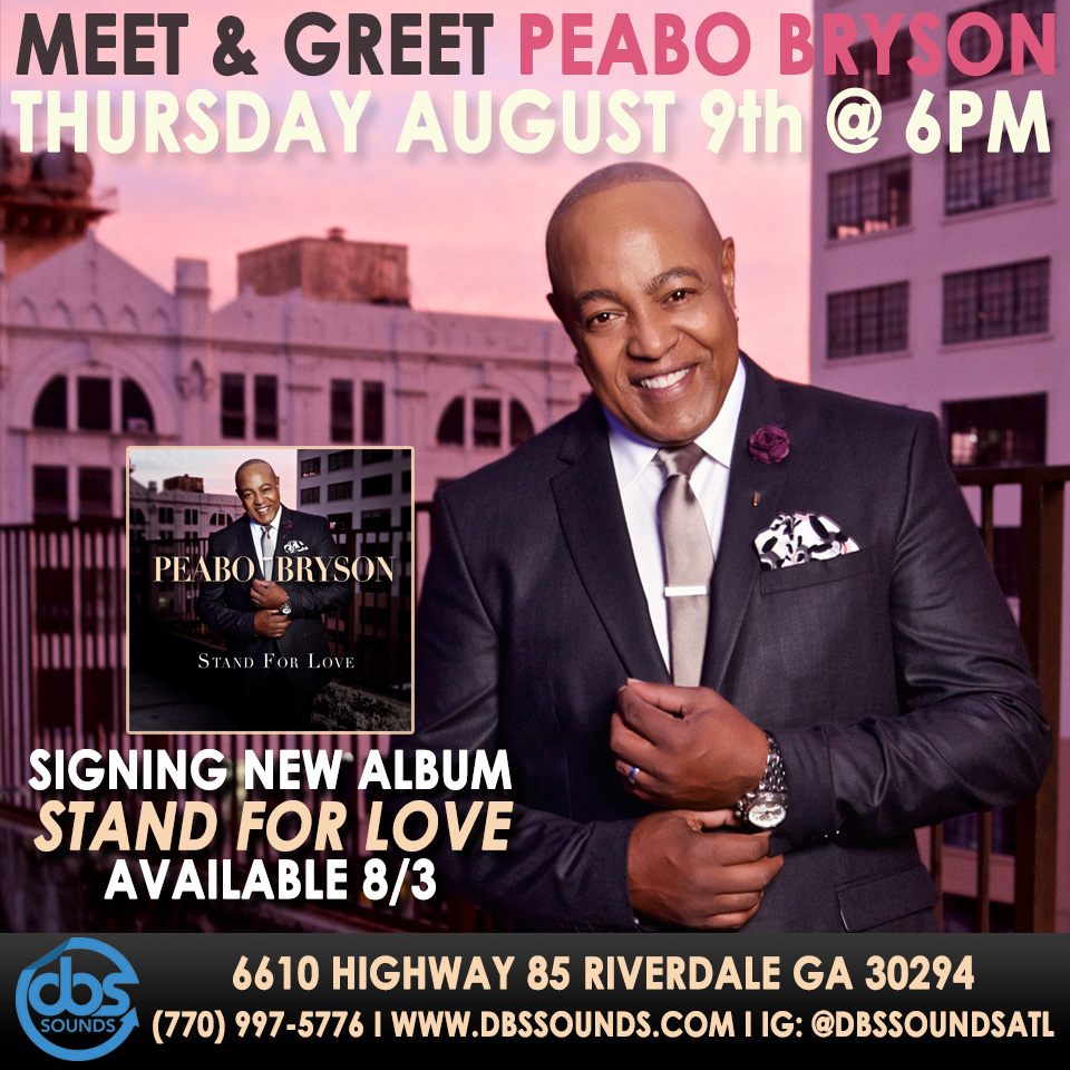 Peabo Bryson - Meet & Greet