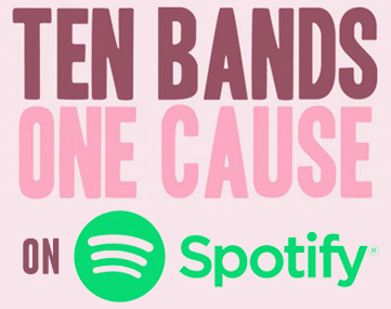 ten bands one cause spotify playlist