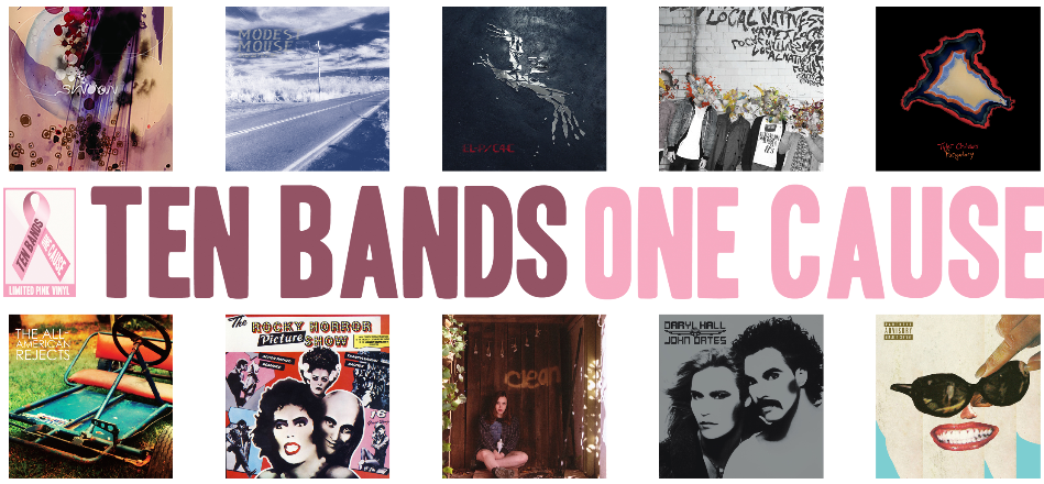 10 bands 1 cause returns this September!