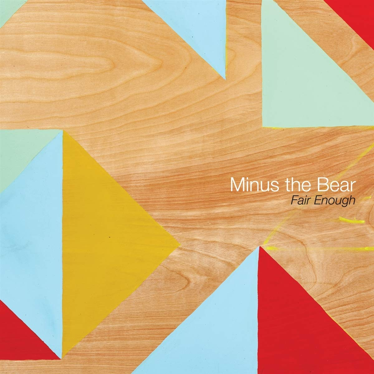 Minus The Bear - Fair Enough EP [Coke Bottle Green Vinyl]