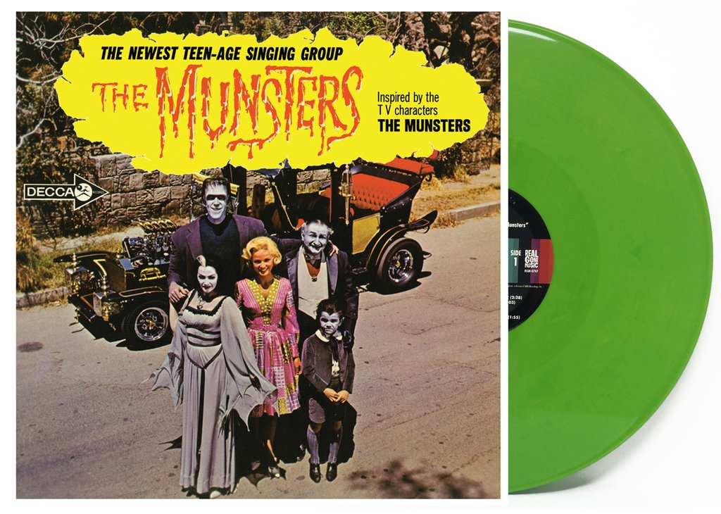 The Munsters - The Munsters [Limited Herman Edition Green LP]