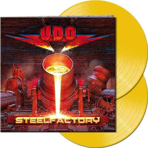 U.D.O. - Steelfactory [Limited Edition Transparent Yellow 2LP]