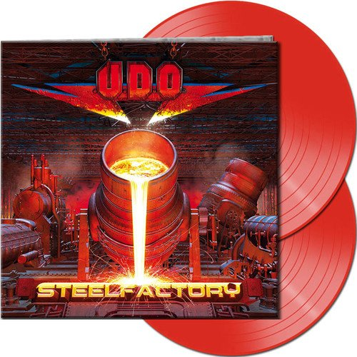 U.D.O. - Steelfactory [Limited Edition Transparent Red 2 LP]