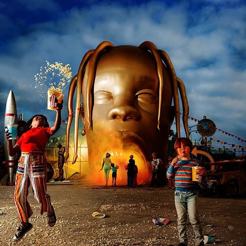 Travis Scott - Astroworld [Clean]