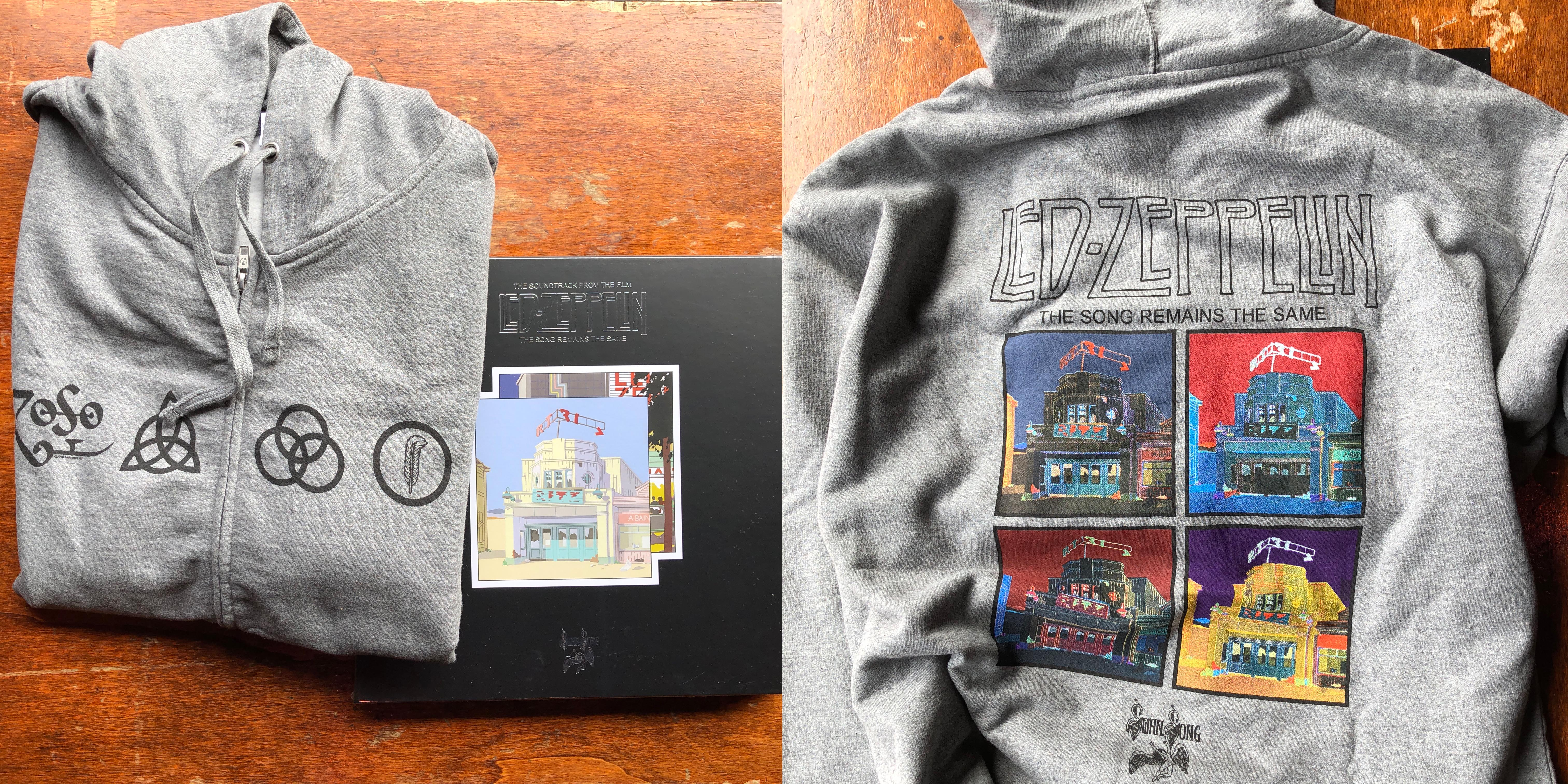 News Easy Street Records X8 Kendrick T Shirt Size M To Celebrate The Release Of Led Zeppelins Expanded Box Set Version Their 1976 Live Album And Concert Film Song Remains Same We Have This Sweet