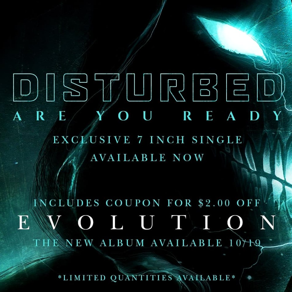 Disturbed - Are You Ready [Vinyl Single]