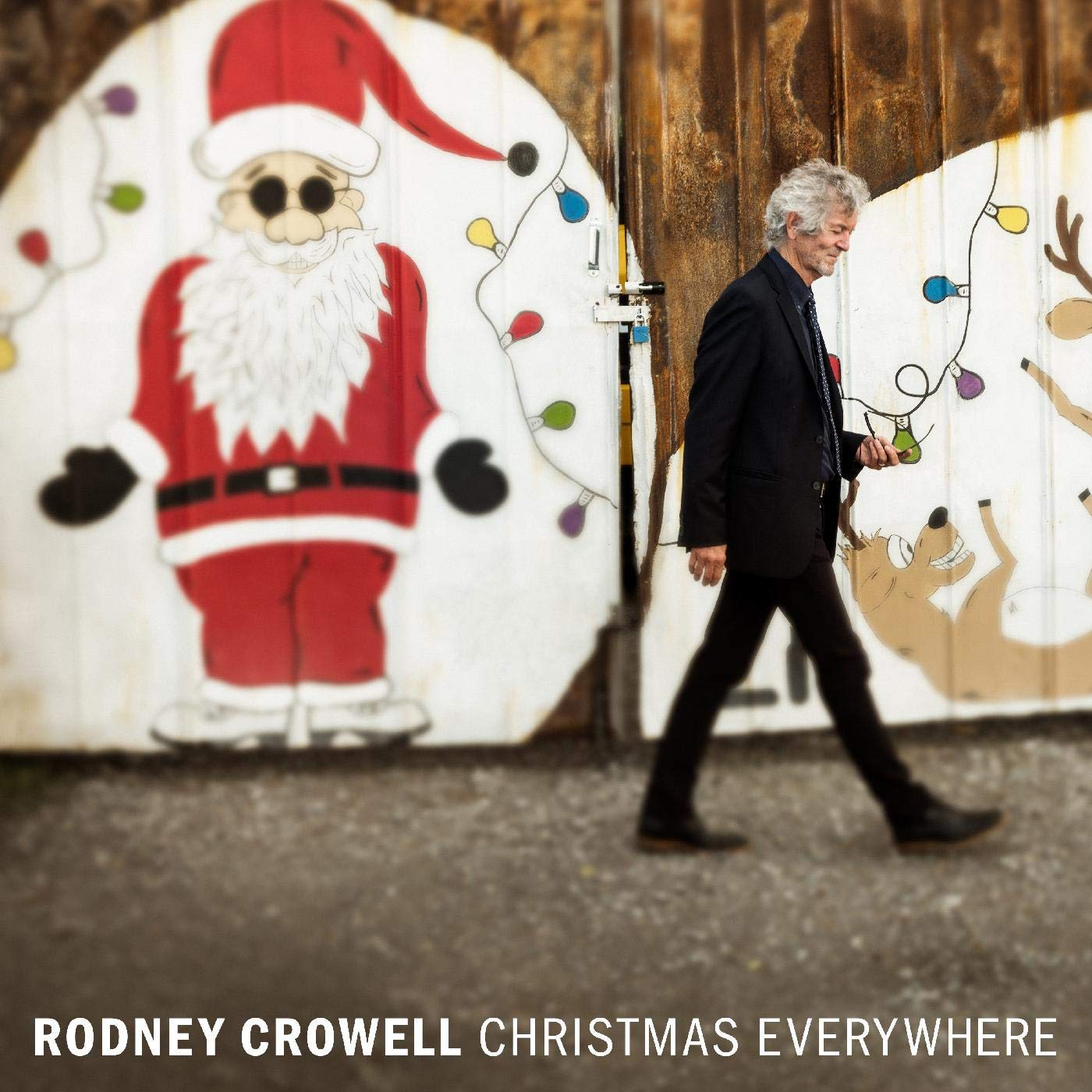 Rodney Crowell - Christmas Everywhere [Indie Exclusive Limited Edition Split Red & White LP]