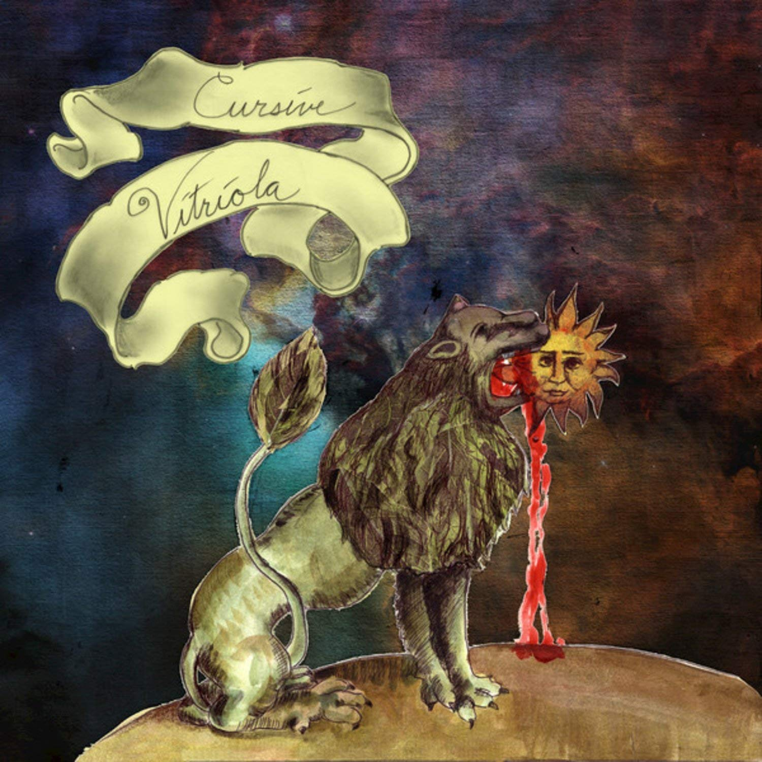 Cursive - Vitriola [Indie Exclusive Limited Edition Black / Gold Marble LP]