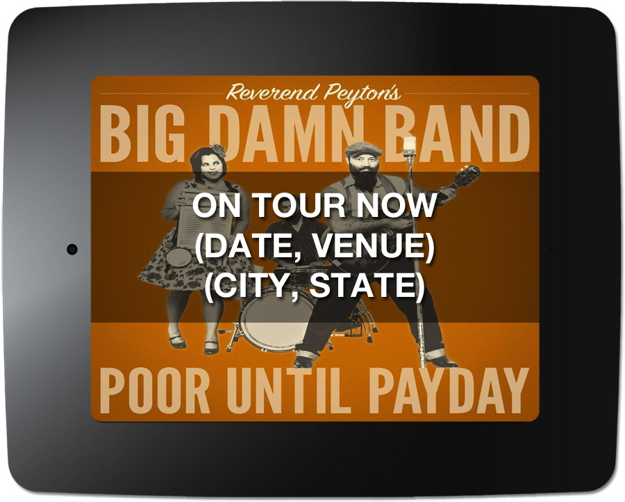Reverend Peyton's Big Damn Band - Kiosk Screen Saver