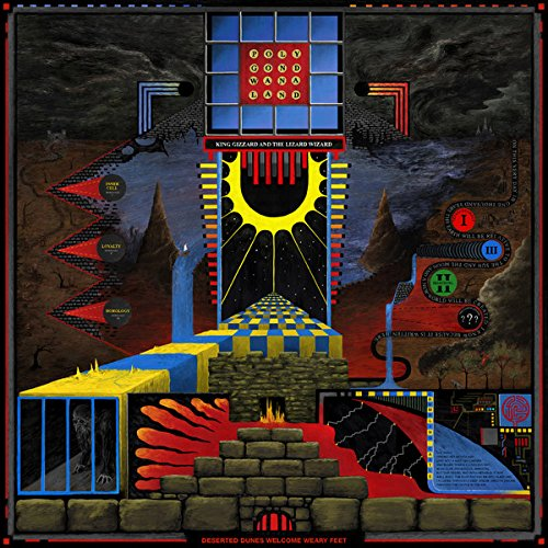 King Gizzard & The Lizard Wizard - Polygondwanaland [Limited Edition Yellow/Red/Cosmic LP]