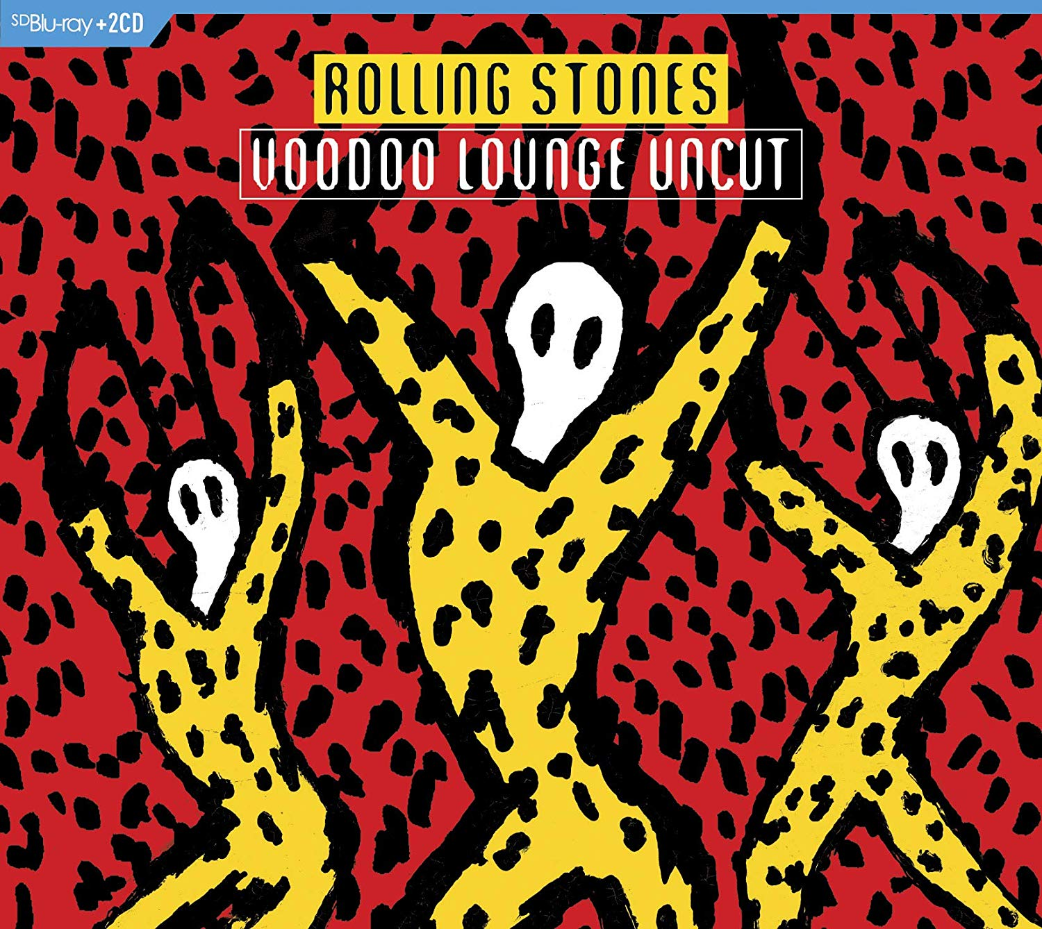 The Rolling Stones - Voodoo Lounge Uncut [2CD/Blu-ray]