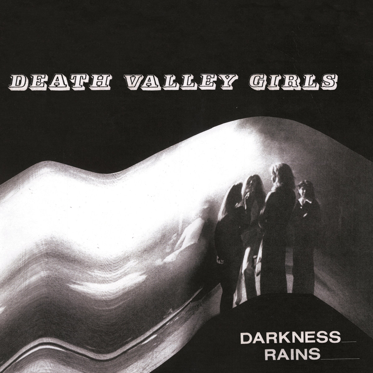 Death Valley Girls - Darkness Rains [Colored Vinyl] (Red) (Ylw) (Can)