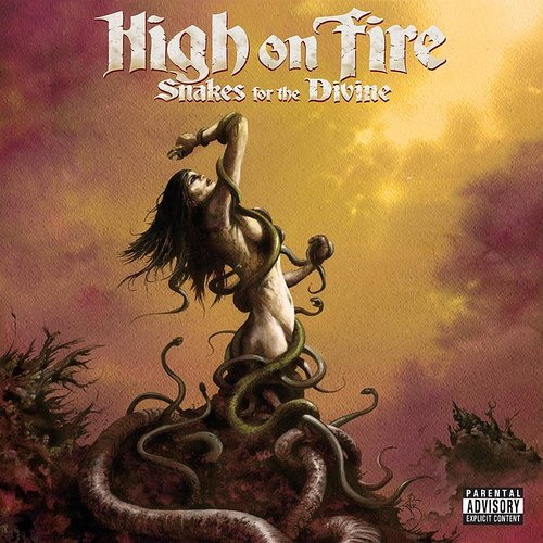 High On Fire - Snakes For The Divine (Red) (Uk)