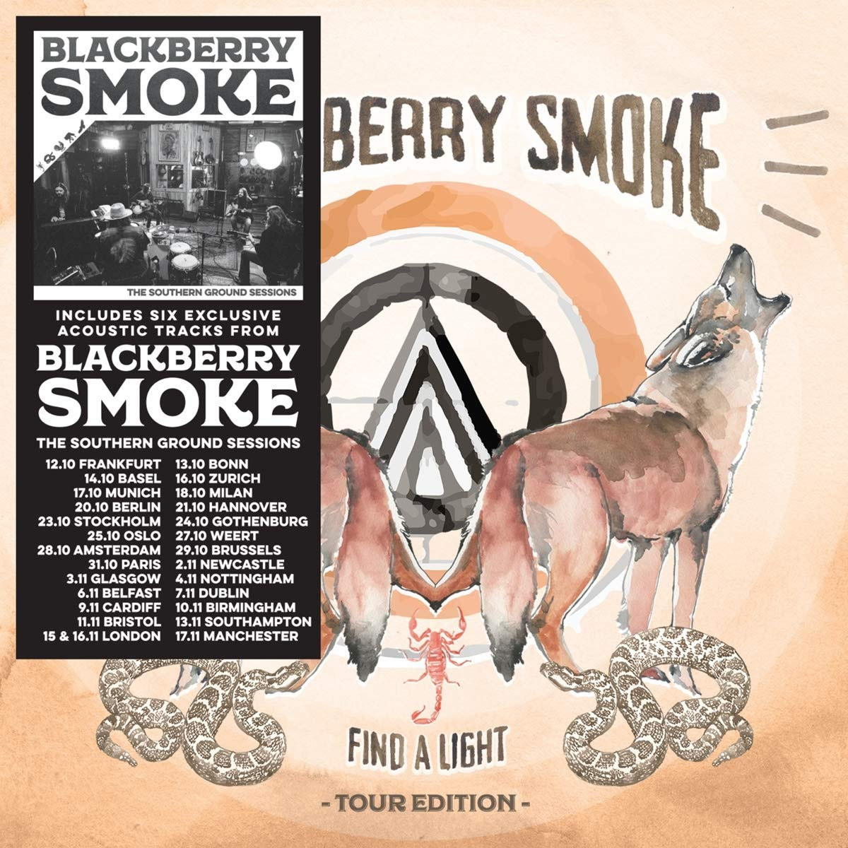 Blackberry Smoke - Find A Light: Tour Edition (Bonus Track) [Import]