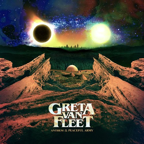 Greta Van Fleet - Anthem Of The Peaceful Army [Import Limited Edition Red LP]
